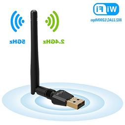 1200Mbps Wireless USB Wifi Adapter, FayTun USB Wifi Adapter,