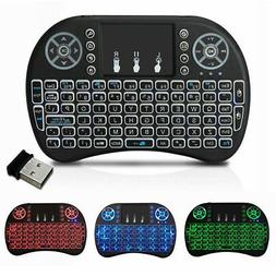 2.4G Mini Wireless Backlit Touchpad keyboard and mouse For A