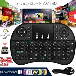 2.4G Mini Wireless Keyboard Mouse Touchpad 92 Key For Androi