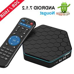 EASYTONET95Z PLUSAndroid TV Box Android 7.1 HD Player Am