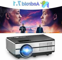 2800LMS Blue tooth Android 7.1 Projector WIFI Smart Home The