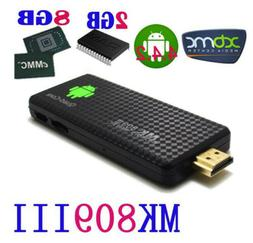 2GB 8GB Android 5.1 Dongle Quad Core UHD 4K WiFi 3D Smart TV
