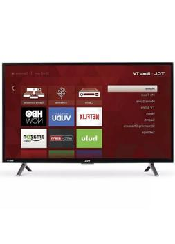 """TCL 32"""" Roku Smart LED HDTV with 720p Resolution 60Hz Refres"""