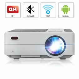 3200Lumen LED Smart Projector Blue-tooth Wireless HDMI Airpl