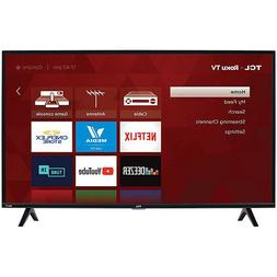 "TCL 40"" 1080p HD LED 3-Series Dual-Band Wi-Fi Roku Smart TV"