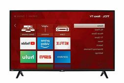 Tcl 43S325 43 Inch 1080P Smart Led Roku Tv . FAST SHIPPING!!