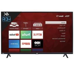 TCL 43S425 43 Inch 4K Ultra HD Smart Roku LED TV