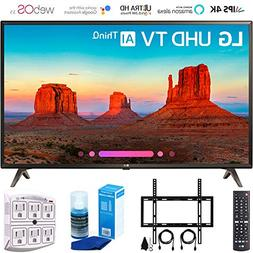 "LG 43UK6300 43"" UK6300 Smart 4K UHD TV  with Wall Mount + Cl"