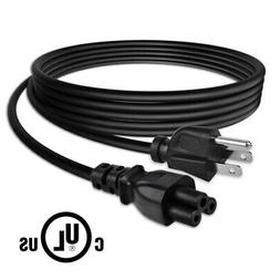 6ft UL 3Prong TV AC Power Cord Cable for LG LED LCD Smart La