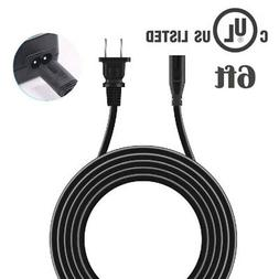 Vani 6ft UL Power Cord Cable Lead Wire for TCL Roku Smart TV