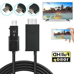 Micro USB MHL to HDMI HDTV TV AV Cable Adapter for Android S