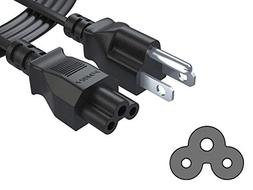 Pwr Long 6 Ft 3 Prong TV Power Cord for LG LED LCD Smart 108