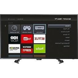 "Sharp - 50"" Class  - LED - 1080p - Smart - HDTV Roku TV - Bl"
