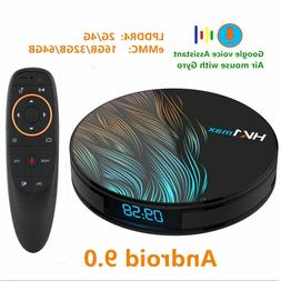 Android 9.0 Smart TV BOX Google Assistant RK3328 4G 64G TV r