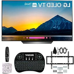 LG B8PUA 55 OLED 4K HDR AI Smart TV with Wireless Keyboard +