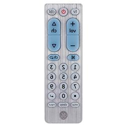 GE 2 Device Universal Remote, Works with Smart TVs, LG, Vizi