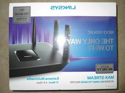 LINKSYS EA9300 AC4000 MAX-STREAM Smart WiFi TRI-BAND Gigabit