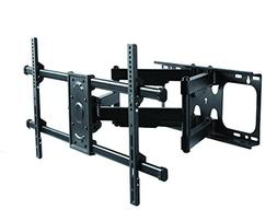 ELITE MOUNT - Heavy Duty Dual Arm Articulating Wall Mount fo