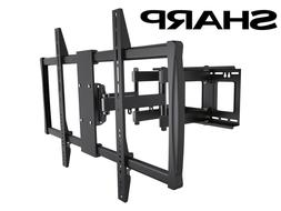 Full-Motion TV Wall Mount 60 65 70 75 80 90 100 Inch Sharp L