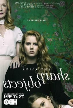 HBO TV Series Sharp Objects Poster Fabric Decor 18x12 36x24