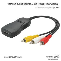 RadioShack HDMI To Composite Converter - Converts Digital HD