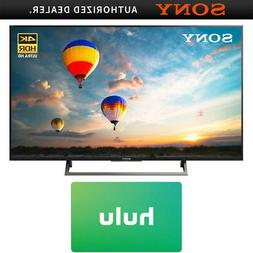 "Sony 43"" 4K HDR UHD Smart LED TV  w/ Hulu $25 Gift Card"