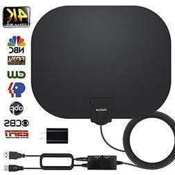HDTV Antenna 130+Miles Long Range Indoor Digital HDTV Antenn