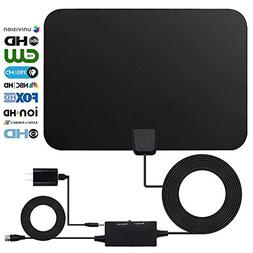 HDTV Antenna Indoor Digital 60-80 Miles Long Range TV Antenn