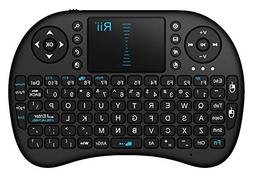 Rii I8 Mini 2.4Ghz Wireless Touchpad Keyboard with Mouse for