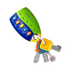 LtrottedJ Toy Keys for Toddlers and Baby Toys-Toy Car Keys w