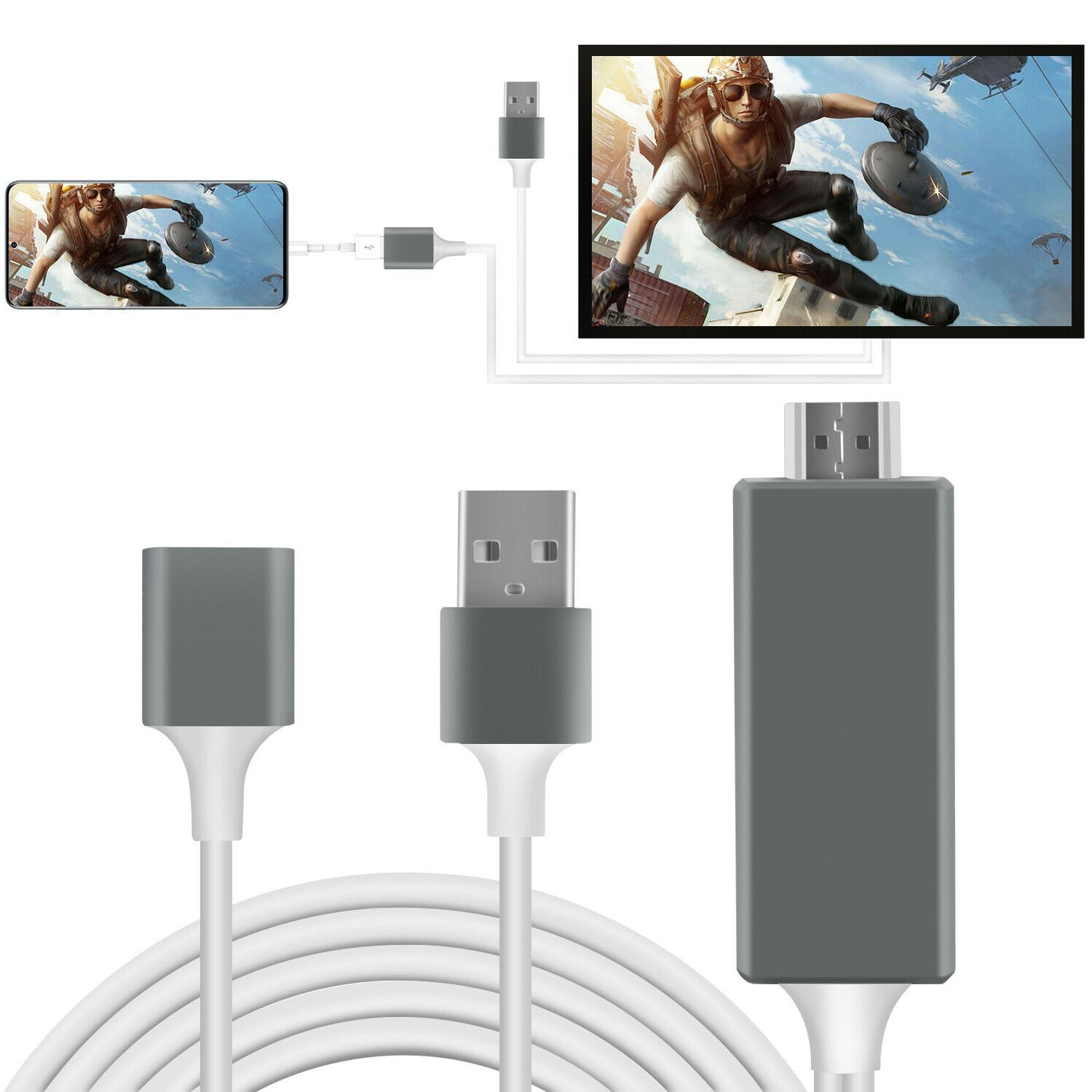 1080P HD Smart Cable Phone TV iPhone/iPad/Android/Samsung