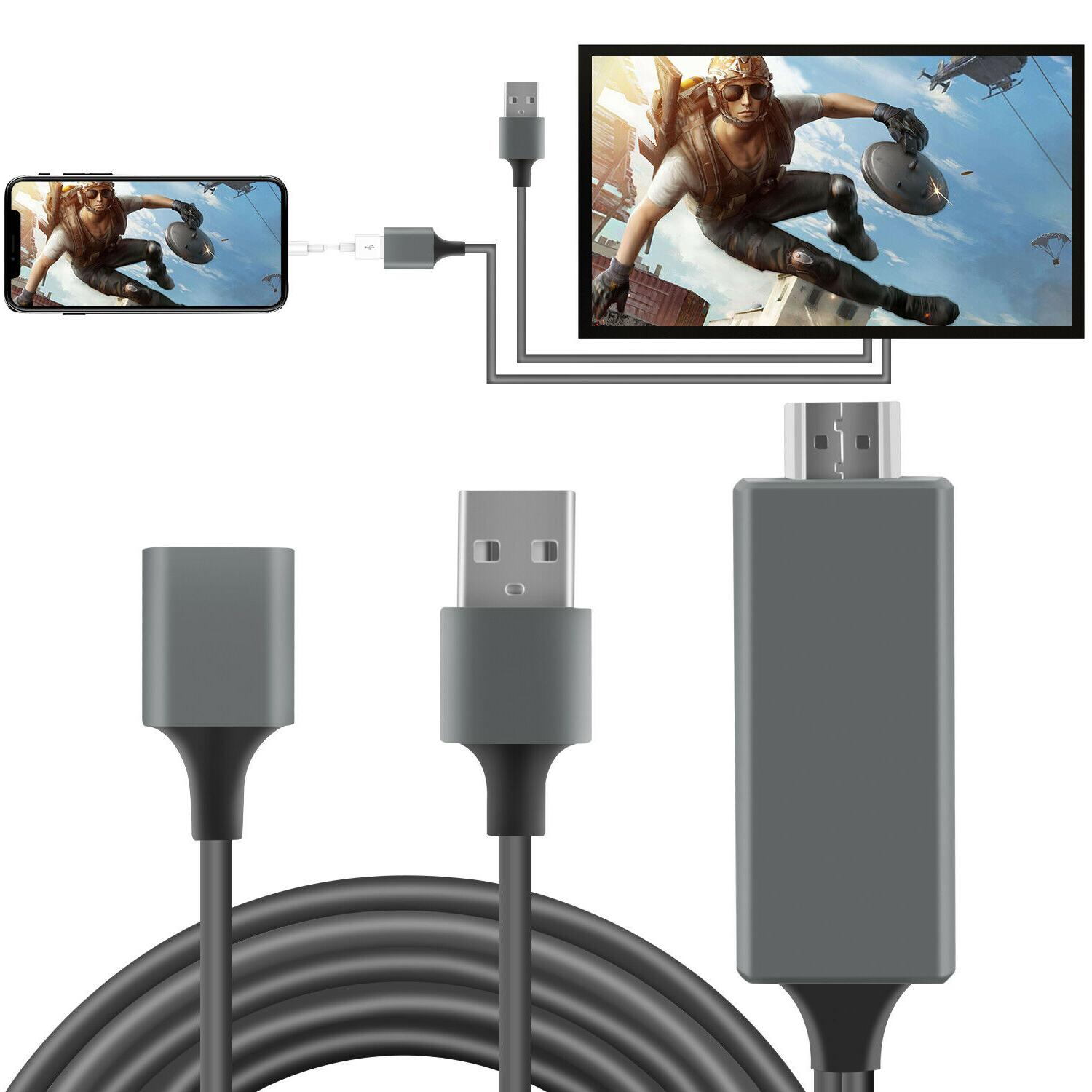 1080p hd hdmi mirroring smart cable phone