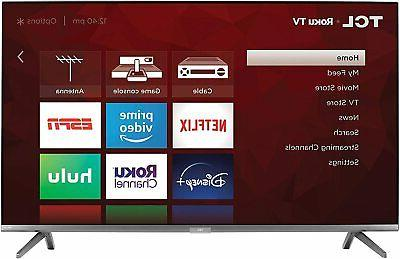 TCL - 6-Series 4K QLED Dolby Vision HDR Smart Roku w/ HDMI