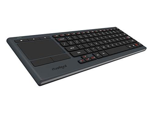 Logitech K830 Living-Room Keyboard Built-in – and Windows Android