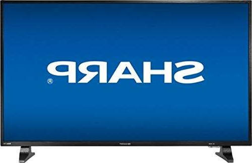 "Sharp - 43"" Class  - Led - 1080p - Smart - Hdtv Roku Tv - Bl"