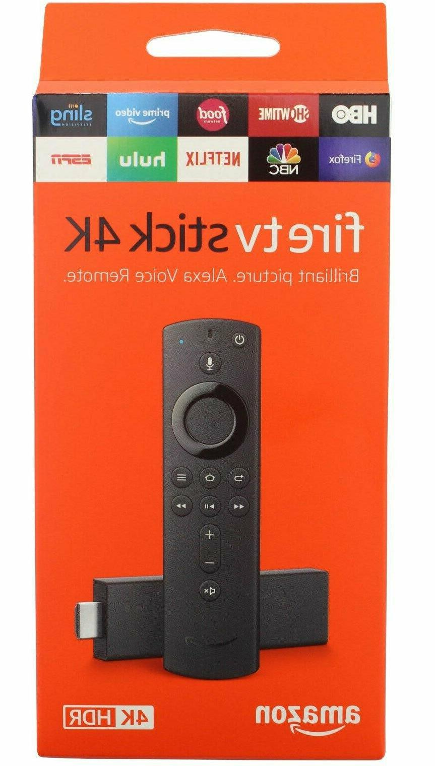 Amazon TV 4K All-NEW Voice Streaming Player