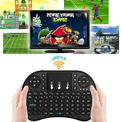 2.4G Mini Wireless Keyboard Mouse Touchpad For Android Smart