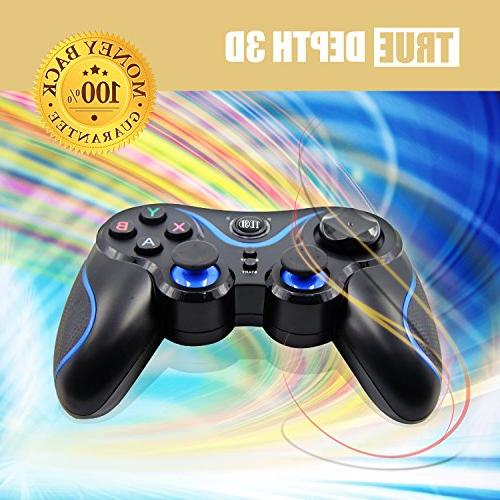 Evolved Wireless Bluetooth Gamepad for Android Cell Tablets