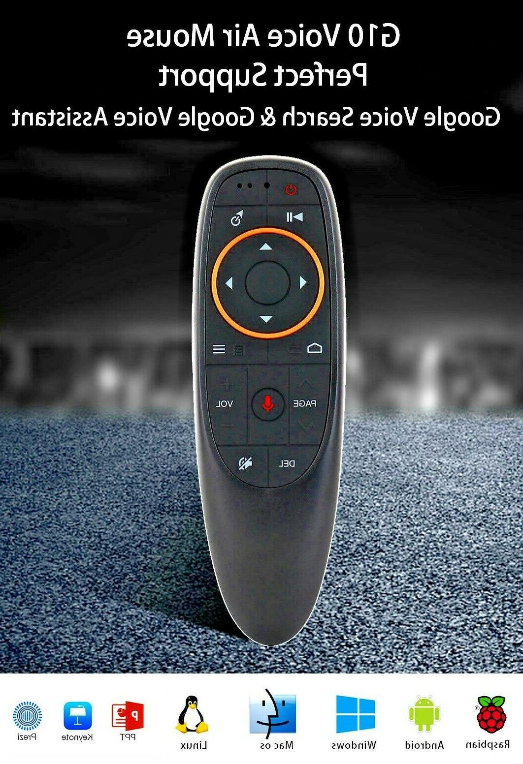 g10 wireless remote air mouse google assistant