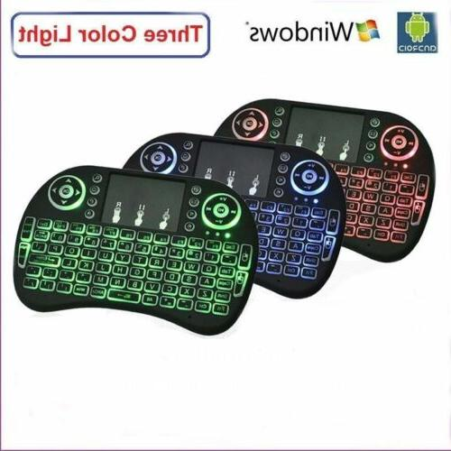 i8 2.4Ghz Keyboard Touchpad PC