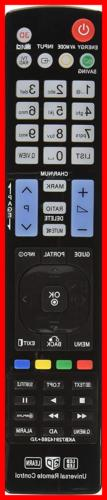 LG AGF76692608 Universal Remote Control For All BRAND TV Sma
