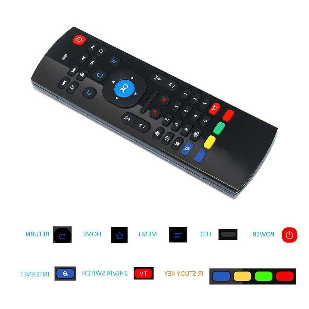 MX3 Air Remote Control Android BOX