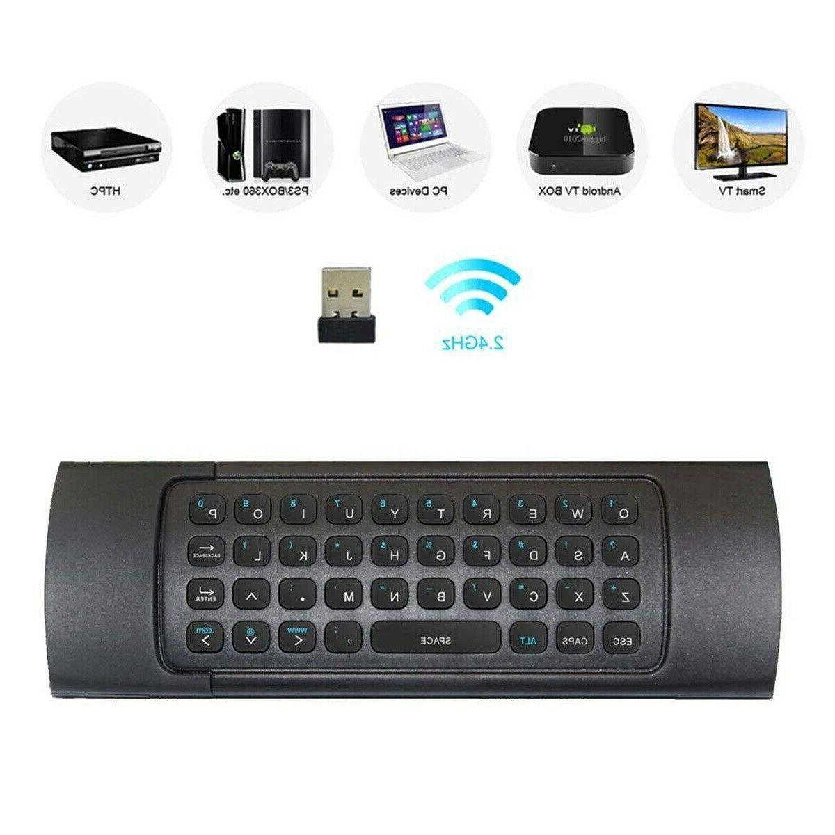 MX3 4 IN Air Mouse Wireless Remote Control For BOX