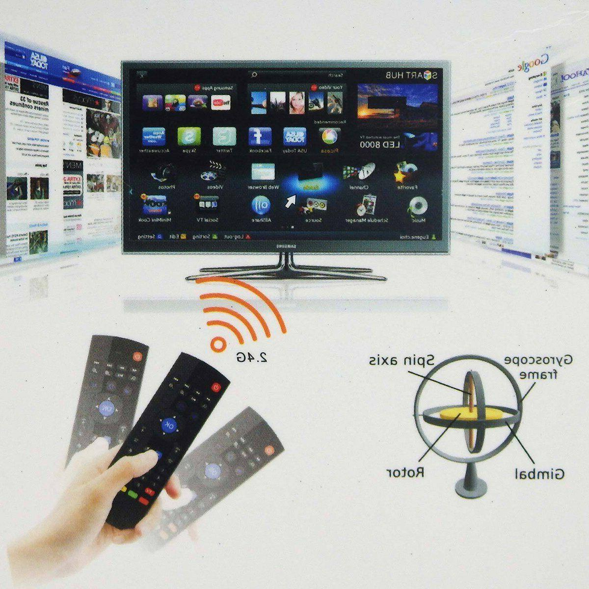 For MX3 Mouse Wireless Control Smart TV