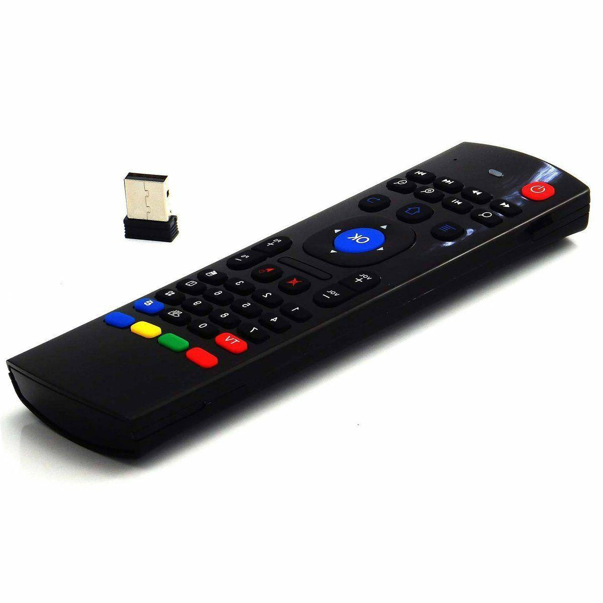 For MX3 Air Mouse Wireless Keyboard Control Smart