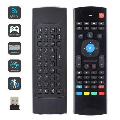 mxiii air mouse wireless keyboard remote control