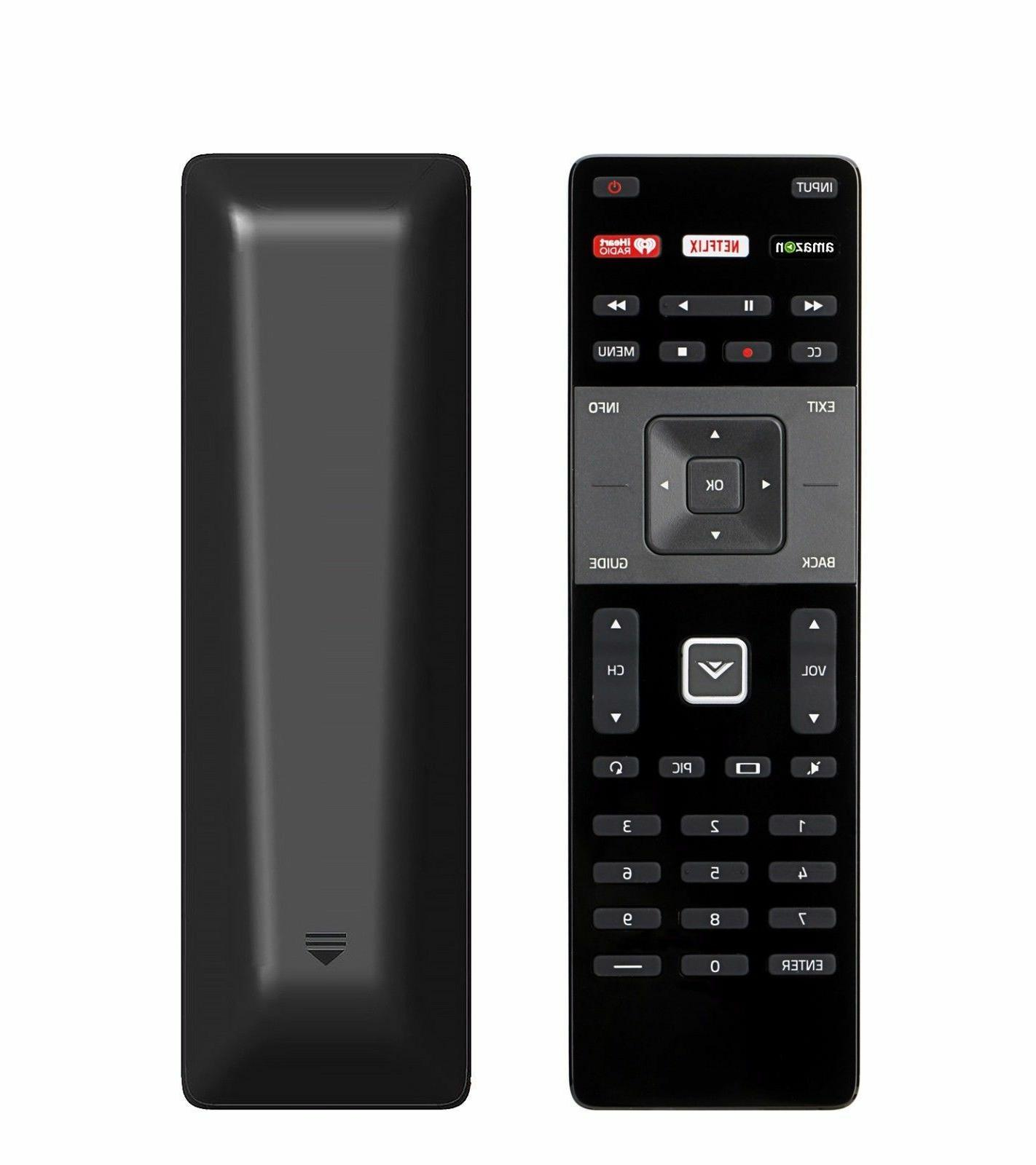 XRT122 TV Vizio Remote w Amazon Netflix APP