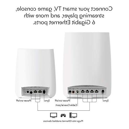 NETGEAR Home with and WiFi router and speeds up Gbps 4,000 feet,