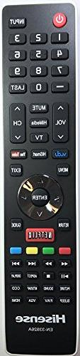 Smartby Remote Control Compatible with Hisense Smart TV 40H5