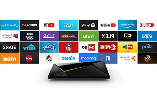 NVIDIA Shield Home Edition   4K HDR Streaming Media Player with Link